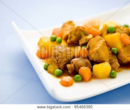 Wholesome Beef Stew With Vegetables