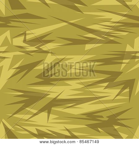 Army camouflage sand colors.
