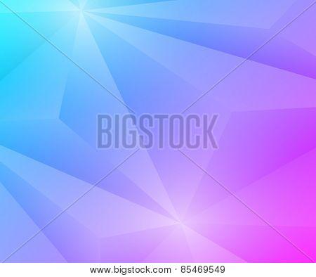 Poligon Geometric Gradient Background