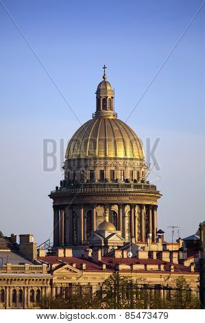 Russia. St.-Petersburg. Isaakievsky cathedral.