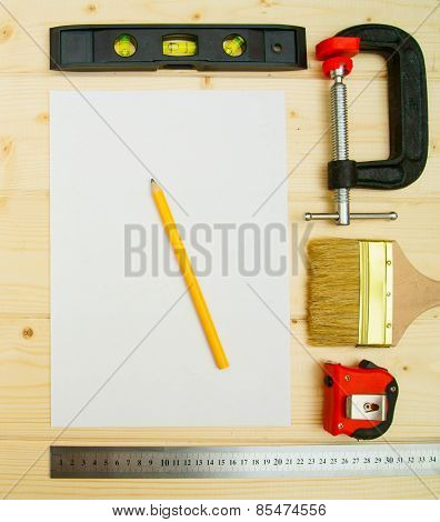 The working tools . For the work .