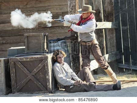 A Gunfight At Old Tucson, Tucson, Arizona