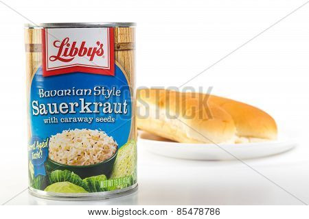 Sauerkraut And Hot Dogs