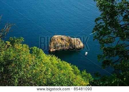 Saint George rock