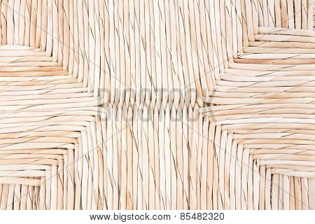 Handcraft Weave Wicker Texture Background