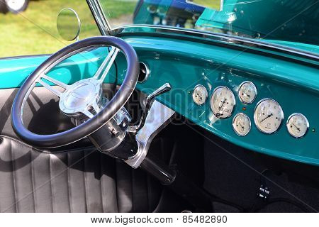 Hot Rod Instrument Panel