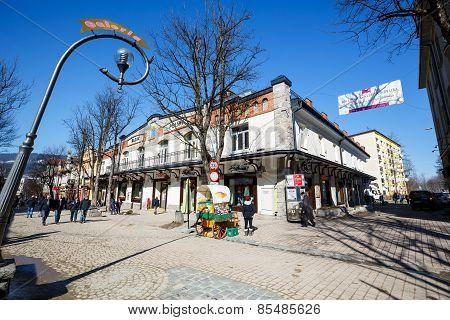 Bazar Polski, Trading House At Krupowki