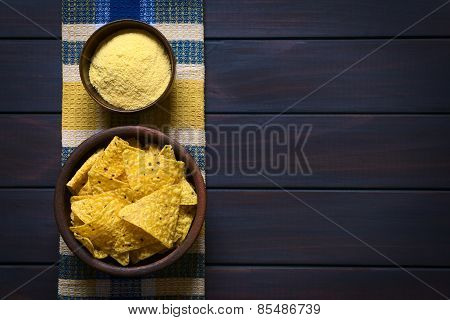 Tortilla Chips and Cornmeal