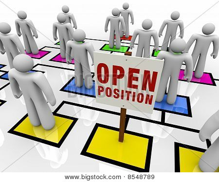 Open Position In Organizational Chart