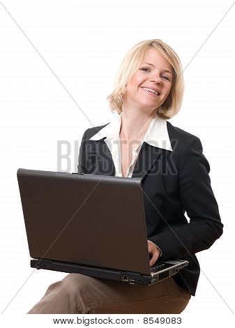 businesswoman working