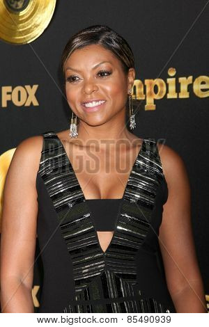 LOS ANGELES - JAN 6:  Taraji P Henson at the FOX TV