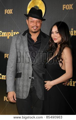 LOS ANGELES - JAN 6:  Terrence Howard, Miranda Howard at the FOX TV
