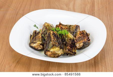 Grilled Artishokes