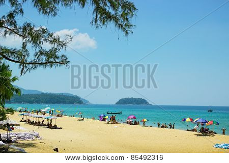 Relax On The Beaches Of Phuket. Thailand