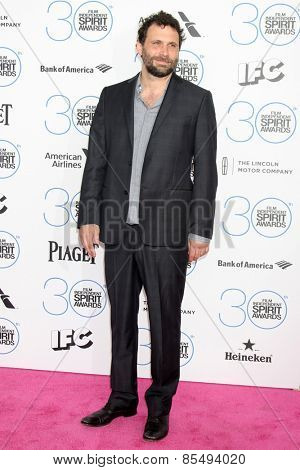 LOS ANGELES - FEB 21:  Jeremy SIsto at the 30th Film Independent Spirit Awards at a tent on the beach on February 21, 2015 in Santa Monica, CA
