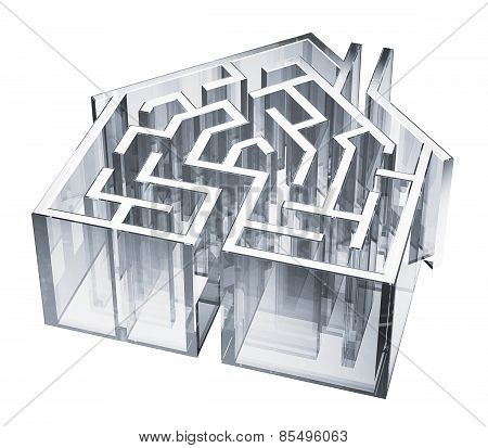 Glass House Maze