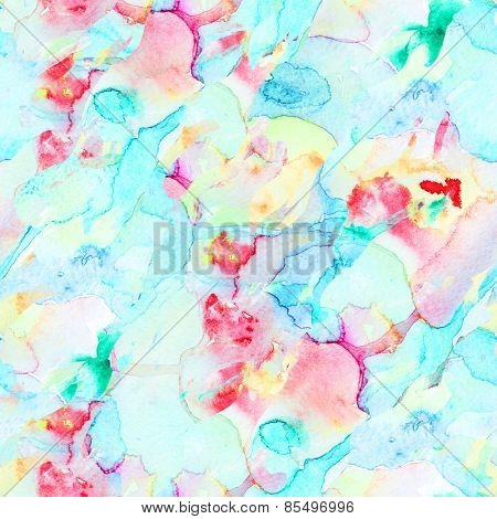 watercolor seamless background