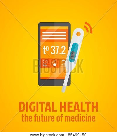 Digital Health Concept