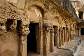 picture of jain  - The twin hills Udayagiri and Khandagiri are located in the vicinity of Bhubaneswar town - JPG