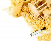 foto of chisel  - Woodworking - JPG