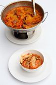 foto of thai cuisine  - Tom Yum Goong  - JPG