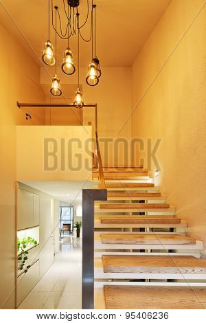 luxury home stairs and decoration