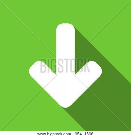 download arrow flat icon arrow sign original modern design flat icon for web and mobile app with long shadow