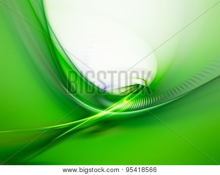 Abstract green background with copy space. Nature and ecology concept.