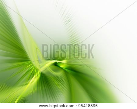 Abstract green background. Nature and organic theme.