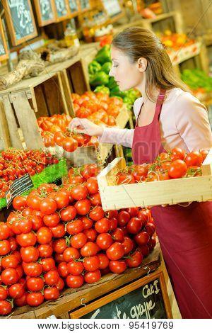 Restocking tomatoes