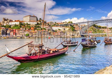 Porto, Portugal on the Douro River.