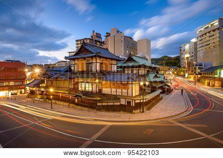 Matsuyama, Japan at Dogo Onsen.