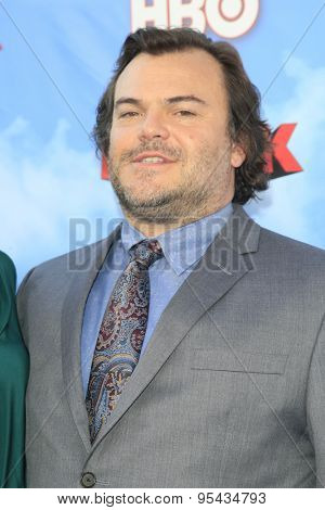 LOS ANGELES - JUN 8: Jack Black at the Premiere of HBO's 'The Brink' at the Paramount Theater at Paramount Studios on June 8, 2015 in Los Angeles, CA