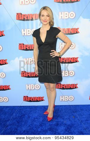 LOS ANGELES - JUN 8: Mary Faber at the Premiere of HBO's 'The Brink' at the Paramount Theater at Paramount Studios on June 8, 2015 in Los Angeles, CA