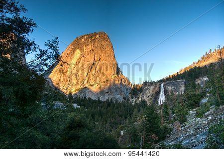Sunset In Yosemite Park