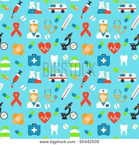 Vector medical pattern