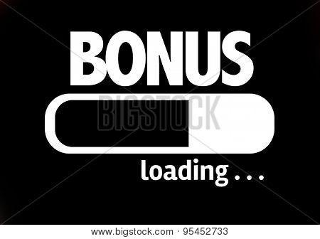 Progress Bar Loading with the text: Bonus