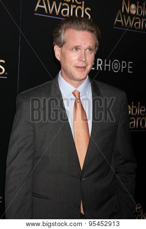 LOS ANGELES - FEB 27:  Cary Elwes at the Noble Awards at the Beverly Hilton Hotel on February 27, 2015 in Beverly Hills, CA