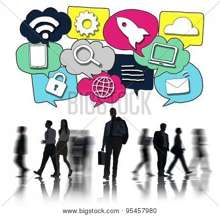 Media Communication Technology Latest Modern Concept