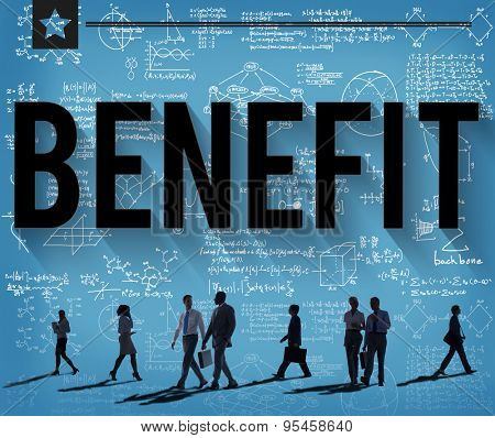 Benefit Income Profit Advantage Welfare Concept