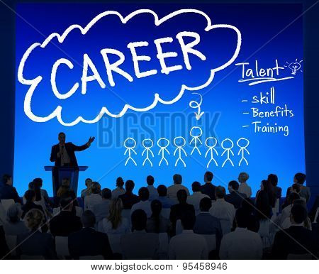 Career Talent Skill Talent Benefits Occupation Concept