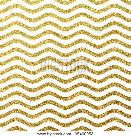 Gold glittering wave background