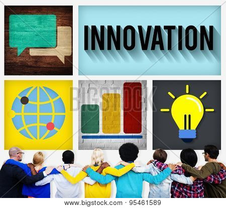 Innovation Technology Development Creative Invention Concept