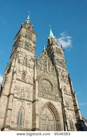 Evangelical Lutheran St.lorenz  Church  In Nuremberg,bavaria,germany  Dedicated To Saint Lawrence