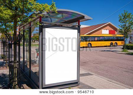 Bushaltestelle Bastad
