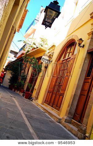 Rethymnon Street Scene