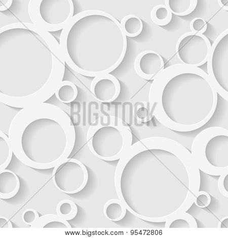 Seamless circles background.