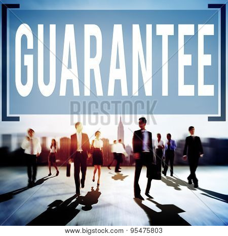 Guarantee Warranty Satisfaction Benefits Customer Concept