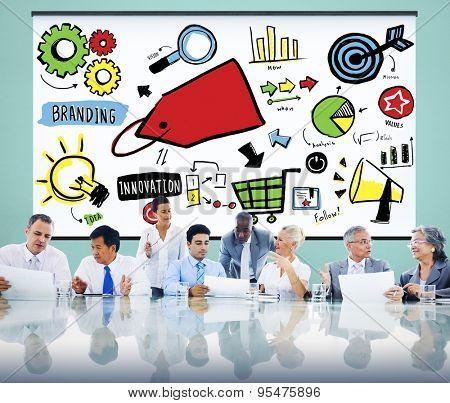 Branding Marketing Advertising Identity Business Trademark Concept