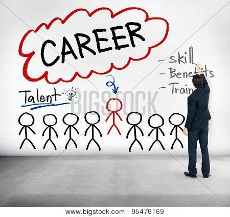 Career Talent Skill Talent Benefits Occupation Concept